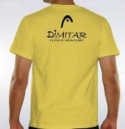 New Dimitar Tennis Academy T-Shirts - Back