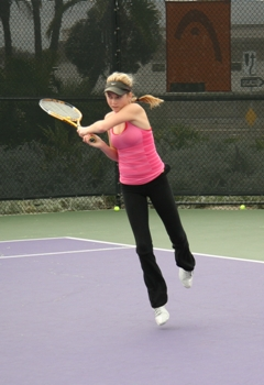 Mattea Kilstofte - one of rising players of Dimitar Tennis Academy